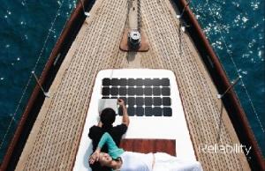 Solbian Marine Flexi Solar Panels Malta